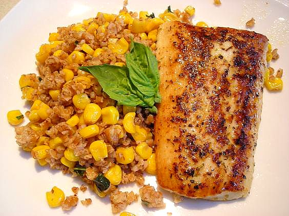 bulgur and fish 001