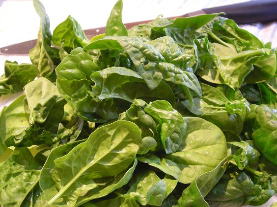 organic spinach 002