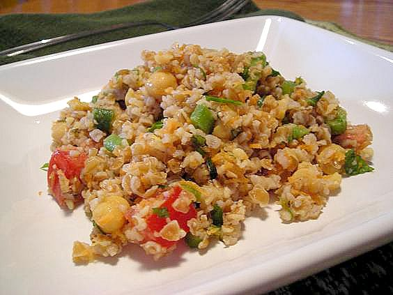 bulgur with veg 006