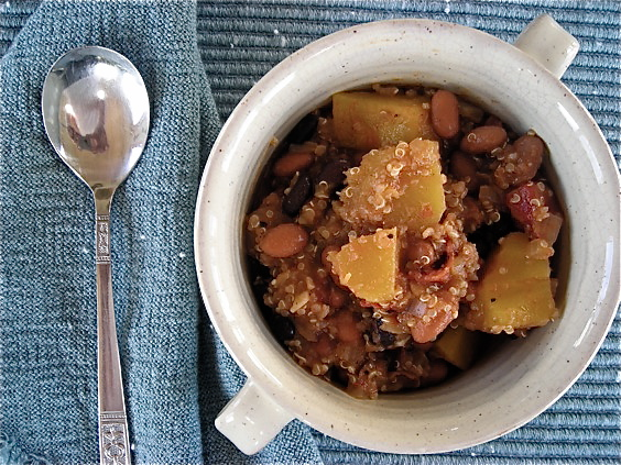Andean Bean Stew with Squash and Quinoa6878