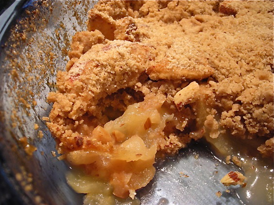 Kate in the Kitchen — Apple Crisp with Crystallized Ginger ...